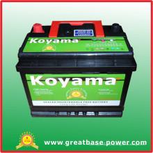 2015 bateria molhada do carro de Hotsell 55530-12V55ah auto bateria