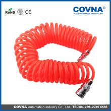 Быстроразъемный соединитель из полиуретановой трубки Спиральный пневматический шланг 8 мм х 5 мм
