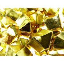 Gránulos de cristal de acrílico coloreados torcidos cristal al por mayor