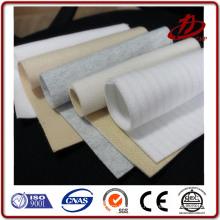 Agulha tecido de filtro de poeira de feltro