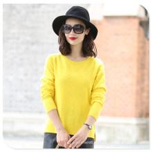Красочные 100% кашемир женщин свитер