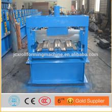 Máquina de moldagem de rolo de convés de aço / máquina de laminação de perfil de aço / máquina de formação de rolo de plataforma de piso