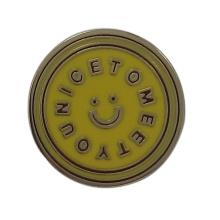 Сувенир подарки Металл Значок Дешевые имя Pin значок Оптовая (JH0038)