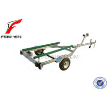 High quality hot dipped galvanized boat trailer