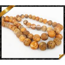Естественные шарики способа, каменные шарики, Loose Strand Gemstone, ювелирные изделия шариков (GB0138)
