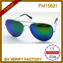 FM15621 Популярный новый тип поощрения металлические солнцезащитные очки с голубой Revo объектива