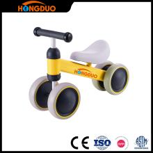 Portable children yellow mini indoor sport balance bike