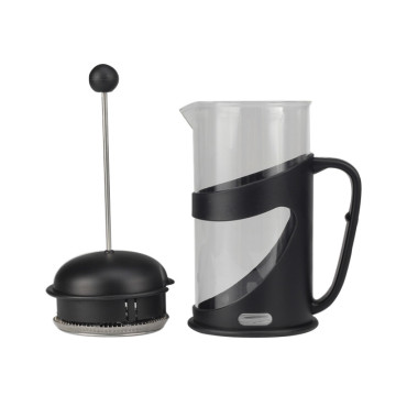 French Press Kaffeemaschine mit bequemem Griff