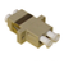 LC / UPC para LC / UPC Duplex SC Tipo com Flange Adaptador de Fibra Plástica