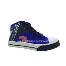 Cool Cartoon High Ankle Children Sneaker (X167-S&B)