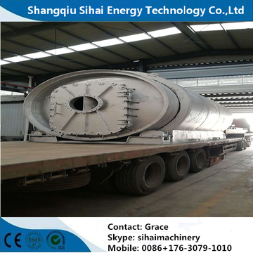 Q245R Steel Plate Waste Tire Recycling Reactor
