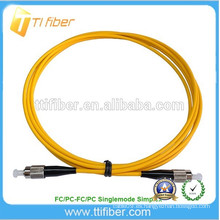 FC UPC SM Simplex fibra óptica patch cord