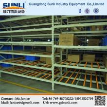Gravity Racking In Steel Storage Rack System
