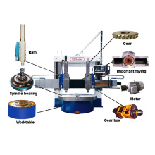 New CNC Vertical Turning Lathe Machine Price Double Column Vertical Lathe Machine