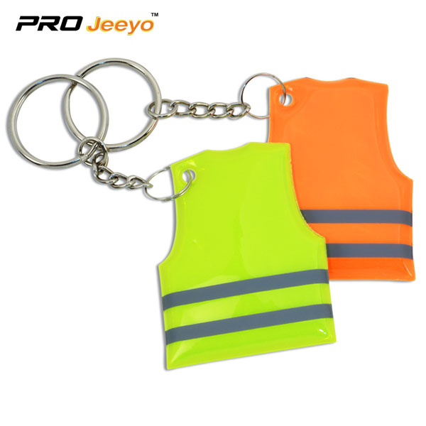 Mobile Phone Reflective Decorative Vest Key Chain RV-102 1