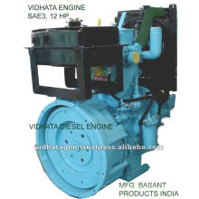 DIESEL ENGINE SAE3 WATER COOLED