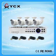 Popular Economy 4CH 720P AHD DIY Kits, système de caméra CCTV