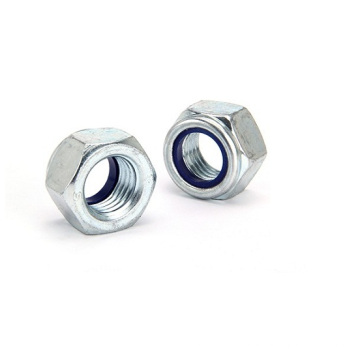 Hex Nylon Lock Nuts with DIN985 Zinc Plated