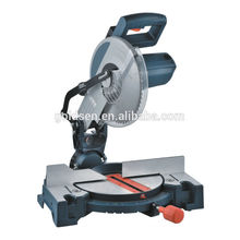 "Hot Selling 255mm 10"" 1900W Wood Cutting Power Compound Miter Saw Machine Portable Electric Aluminum Cutting Saw"