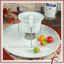 Pot de fondue en céramique au fromage avec la Susan paresseuse