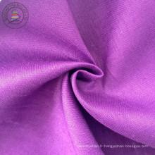 Tissu 100% lin en tissu solide (QF13-0272)