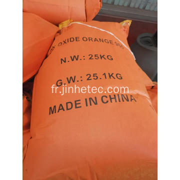 Pigment Oxyde de Fer Orange 2040