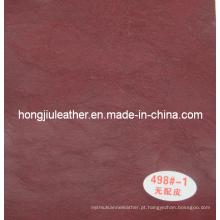 Crack couro de couro decorativo de óleo de cera para sofá