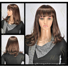Lace Front Wigs by Synthetic Hair Straight (HQ-SW-0S)