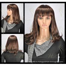 Кружева передние парики, синтетические волосы (модель-ЕО-0С)