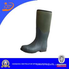 Moda impermeável pesca / caça botas de borracha (66450b)