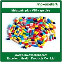 Лучший продавец Melatonin Plus Vb6 капсулы