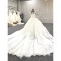 Alibaba high quality ball gown luxury wedding dress WT271 Ivory