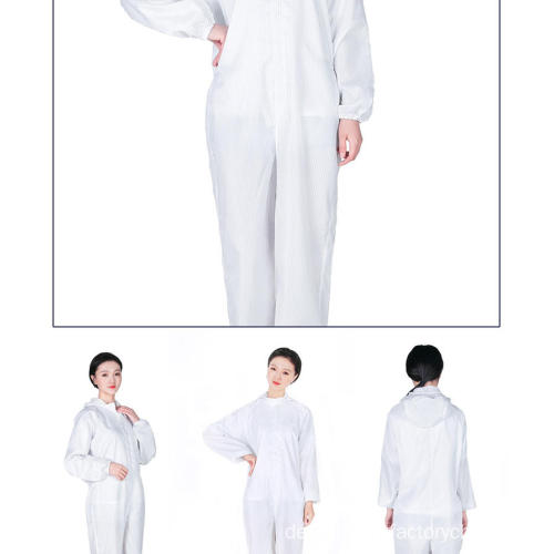 Einweg-Isolation Protective Nurse Hazmat Suits Overalls