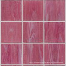 Pink Color Mosaic Crystal Stone Mosaic