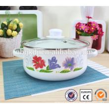 Classical enamel cookware casserole set