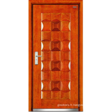 Porte en acier en bois (LT-302)