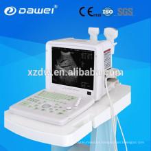 máquina de diagnóstico ultra-sônico e ultra-som máquina de diagnóstico 12 polegada monitor LCD + 96 sonda de isolamento DW360