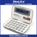 JS-12H рекламный 12-значный калькулятор с пластиковым покрытием