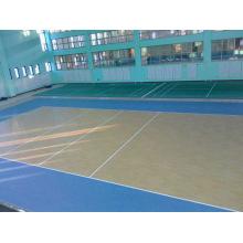 Indoor/Outdoor PVC Sports Floor for Basketball Wooden Pattern