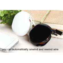 customized logo promotional gifts automatic cable winder