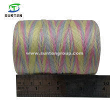 Colorful High Tenacity PE/PP/Polyester/Nylon Plastic Twisted/Braided/Baler/Thread/Packing Line/Fishing Net Twine (210D/380D)