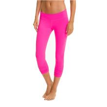 Nylon Spandex Women Compression Pants