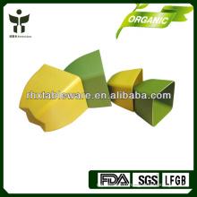 Square Plant Fiber Flower Pot Biodegradable Flower pot