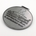 Souvenir Metal Medal With Nickel Plated