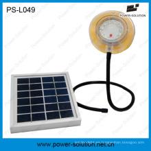 Lámpara Solar Flexible impermeable con cargador de teléfono móvil