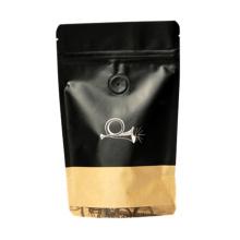 Reine Kaffee-Plastikverpackungs-Tasche mit Ventil