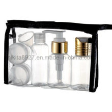 Plastic Cosmetic Travel Bottle Set (NTR03)