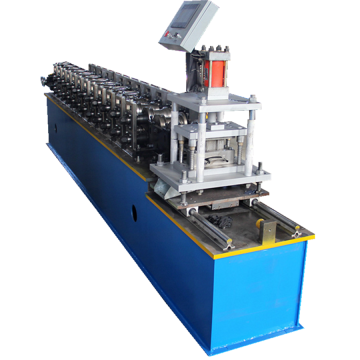 Galvanized steel roller shutter door lath forming machinery