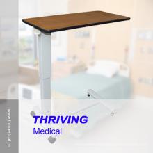 Hospital Adjustable Overbed Table (THR-OBT06F)