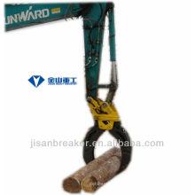 Grappin hydraulique KOBELCO SK100 SK115, grappin de fixation de pelle, grappin à bois